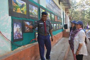Art Exhibition at Pachmarhi, Madhya Pradesh, INDIA.