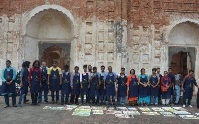 1st International Art Festival at Katra Masjid, Murshidabad