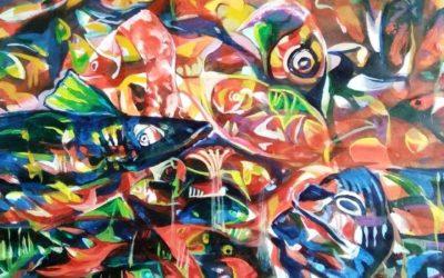 Fish -3,Acrylic on Paper