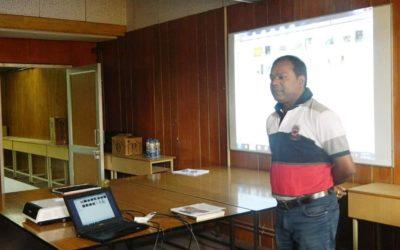 Resource person at NCERT, New Delhi.
